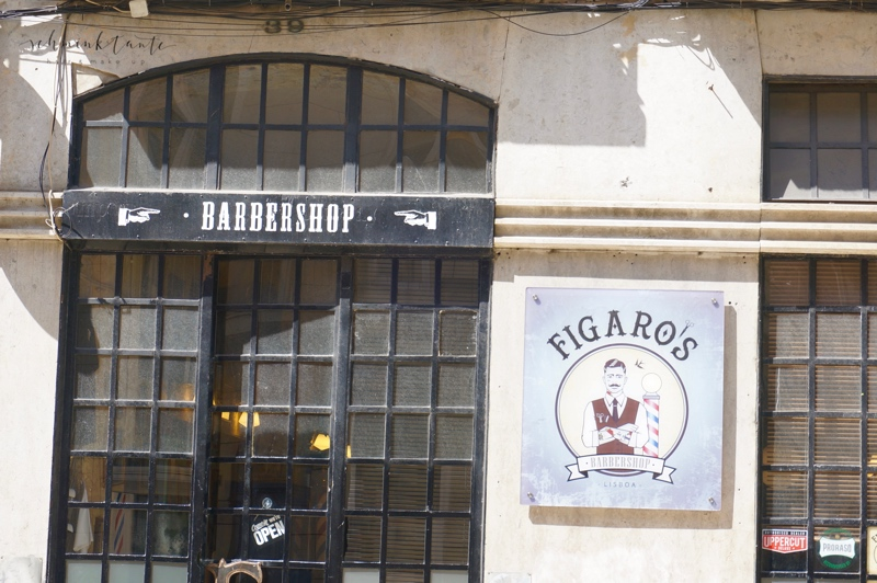 Fassade, Schaufenster, Barbershop, Friseur, beauty, Herrensalon, Salon, Reiseblog, Schminktante, Lissabon, Portugal, Lissabon, Reise, Reisetipps, Reisen, Travel