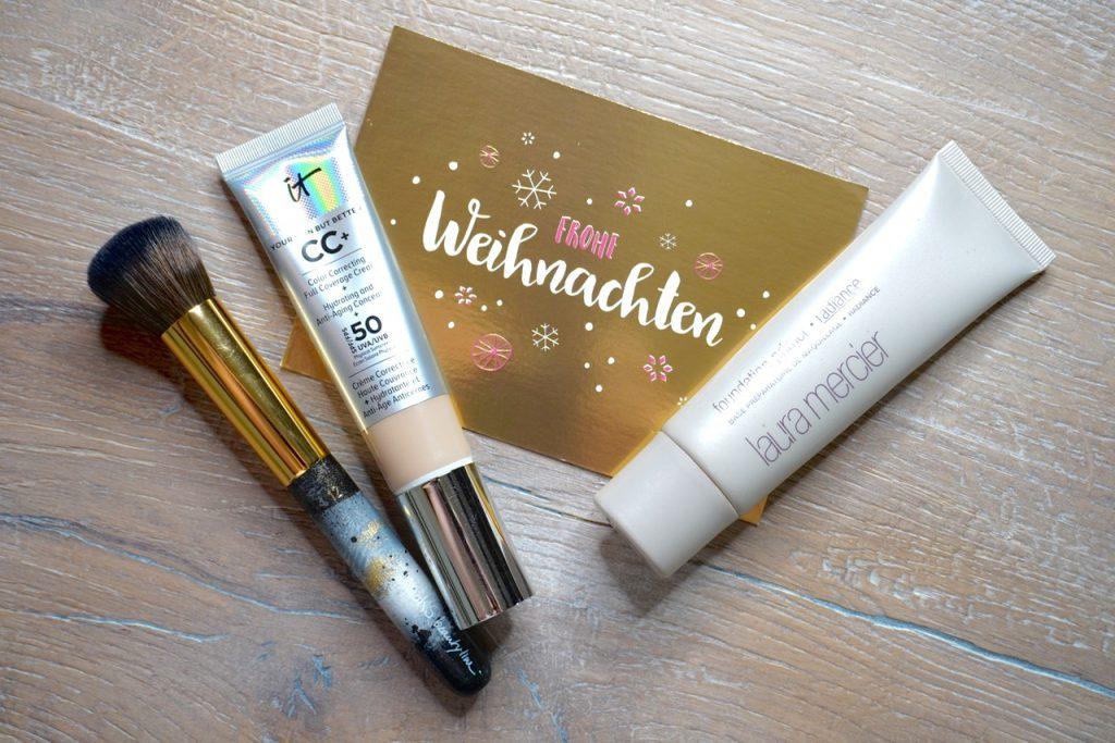 Festtagslook, Weihnachten, Make up, Schminktipps, Schminkvideo, Make up Tutorial, Glow, Laura Mercier, Schminktante, Anja Frankenhäuser