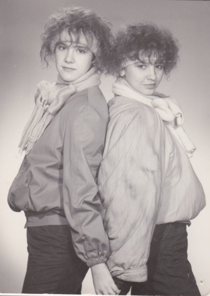 9. November, 1989, Mauerfall, Freundinnen, früher, Schminktante, Anja Frankenhäuser