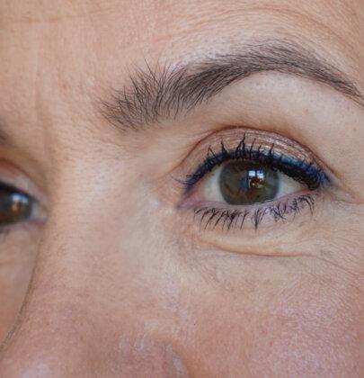 Make up Tutorial: Herbst-Look mit blauem Kajal