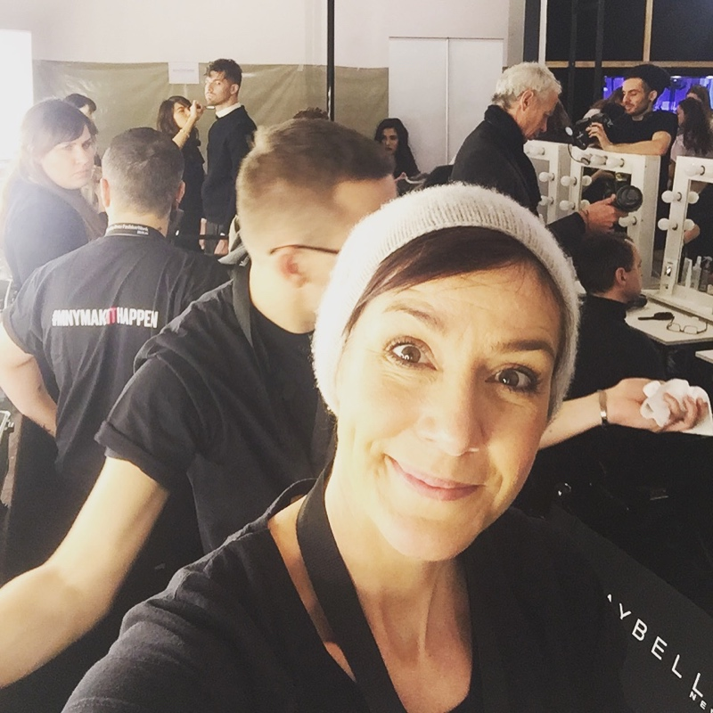 Backstage bei der Fashionweek Berlin.
