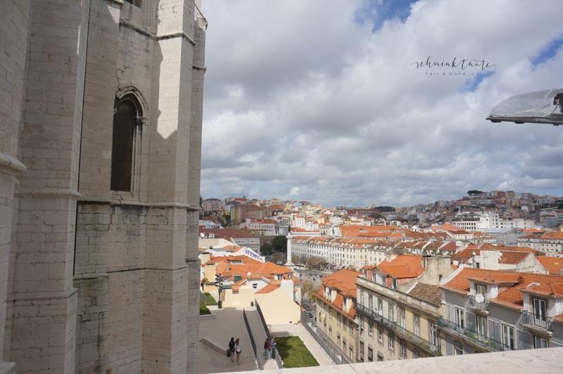 Igreja do Carmo, Kirche, Architektur, Ausblick, Dächer, Lissabon, Schminktante, Topblog, Portugal, Lissabon, Reise, Reisetipps, Reisen, Travel