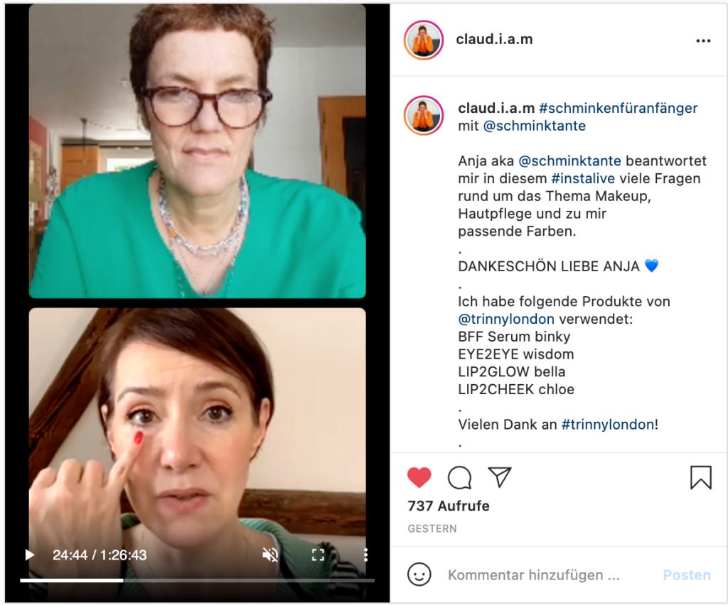 Monatsrückblick, Mai, 2021, Portrait, Schminktante, Anja Frankenhäuser, Insta live, Beautycoaching online, Make up Tipps