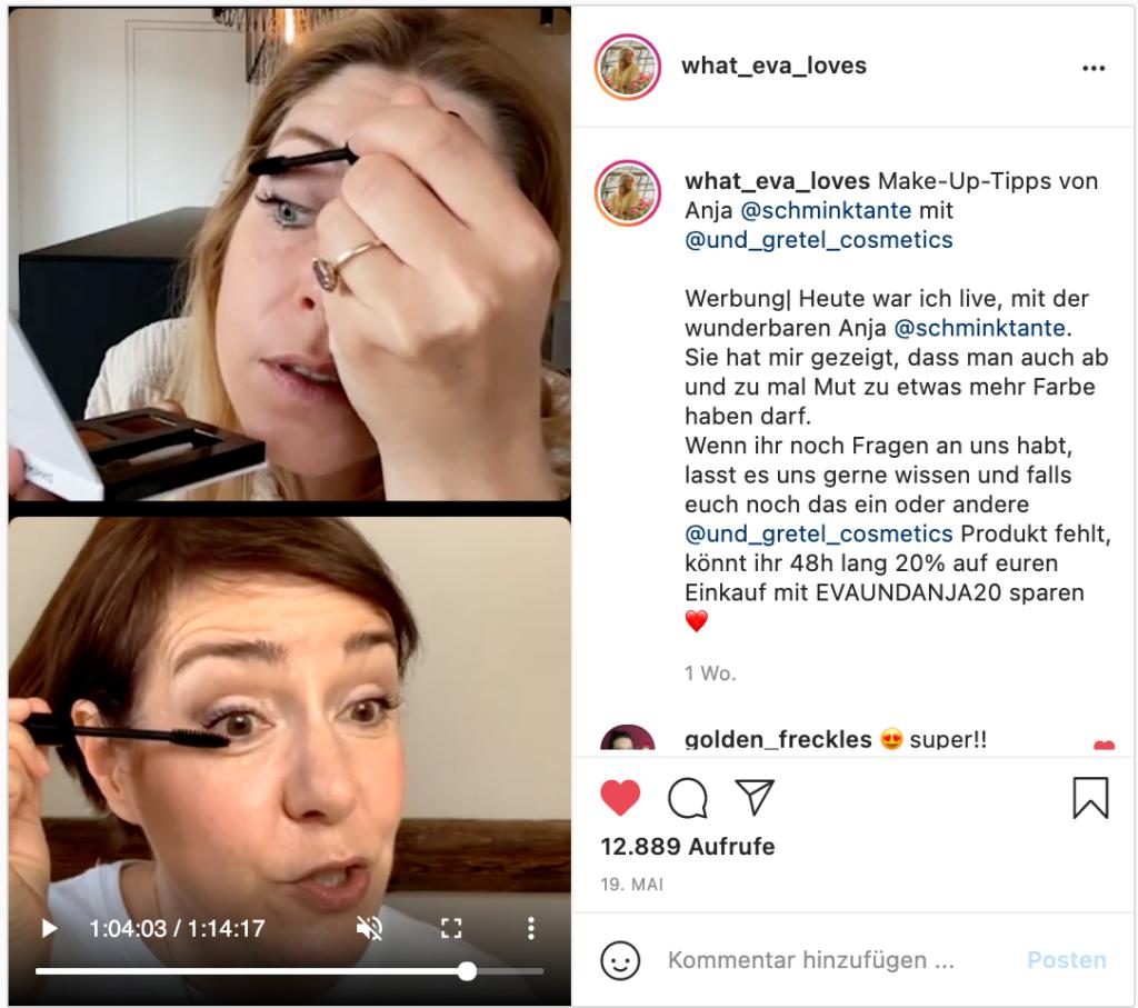 Monatsrückblick, Mai, 2021, Portrait, Schminktante, Anja Frankenhäuser, Insta live, UND GRETEL, Beautycoaching