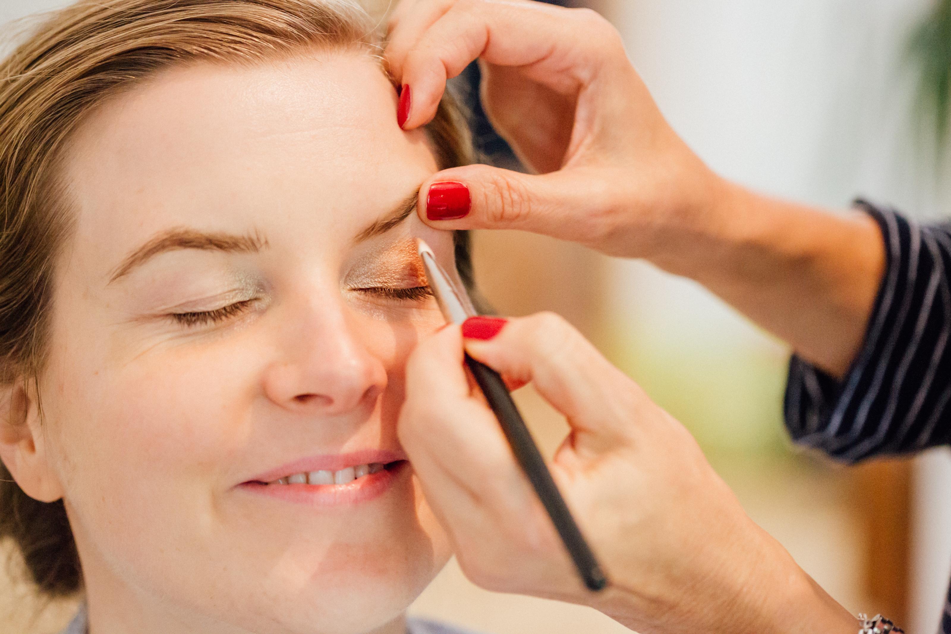 Beautycoaching: schminken lernen mit Schminktante und Make up Artist Anja Frankenhäuser - natürlich, typgerecht und für jedes Alter.