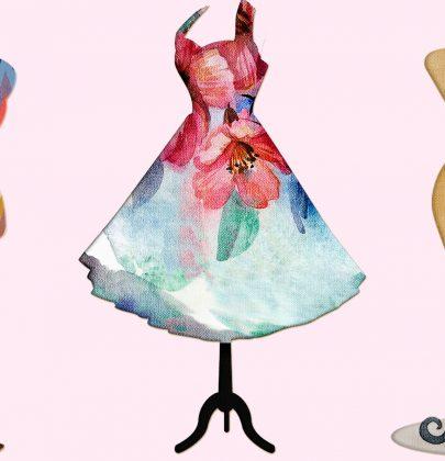 Mode: Ein Kleid – 5 winterliche Stylingvarianten