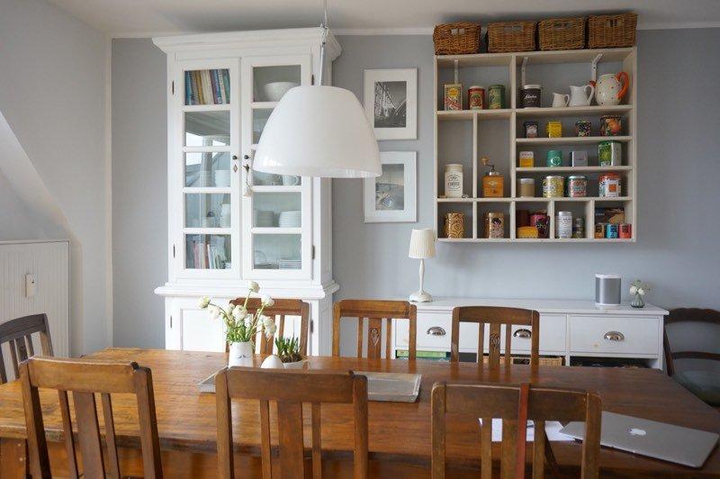 Kueche_Essplatz,wohnen, Wohnidee, Kitchen, White, Living, einrichten, Umzug,