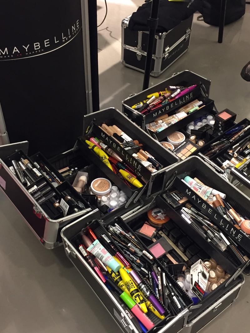 Maybelline Make up Koffer zur Berlin Fashionweek.