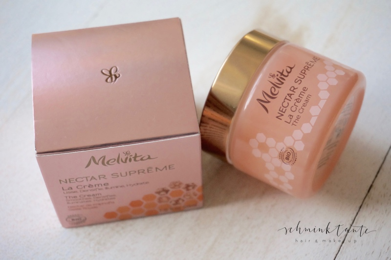 Nectar Supreme Creme von Melvita im rosa Döschen.