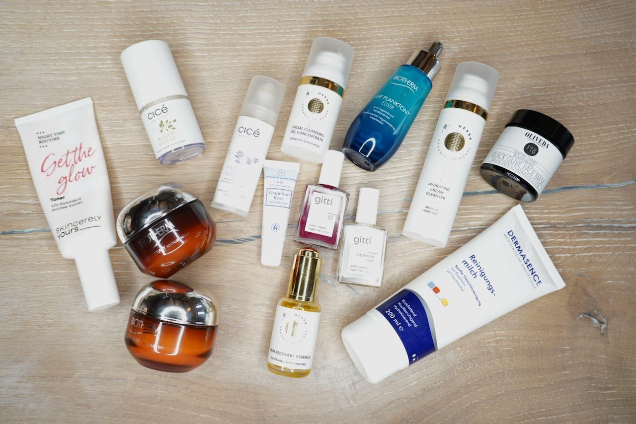 Monatsrückblick, Hautpflege, Skincare, Pflegeritual, Schminktante, Anja Frankenhäuser, Top-Blog, Top-Beautyblogger, Influencer Ü40
