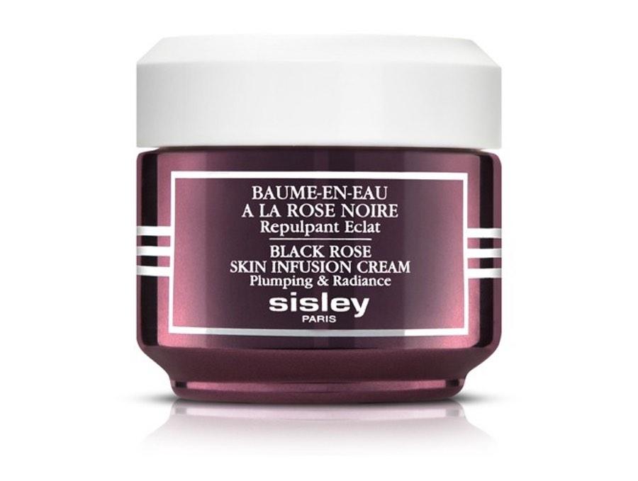 Sisley's BAUME-EN-EAU À LA ROSE NOIRE Tagespflege für einen geglätteten strahlenden Teint, vorgestellt von der Schminktante.
