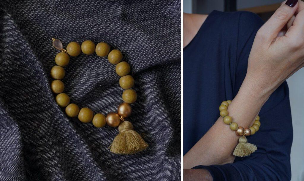 Schmuck, Armband, Perlenarmband, Mala, Schmückstück, Geschenkidee, Weihnachten, Schminktante, Anja Frankenhäuser