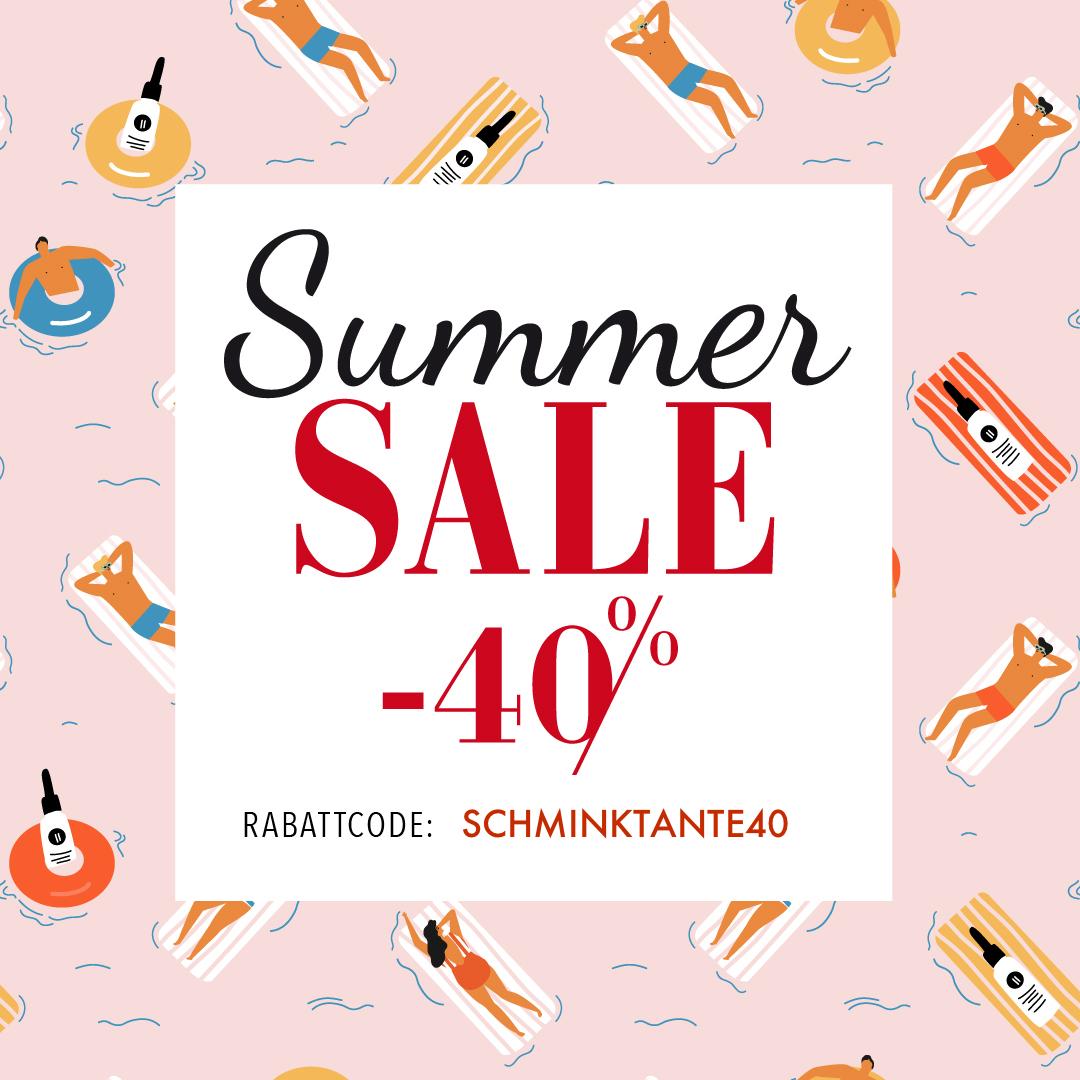 Sale bei Oliveda: mit dem Code SCHMINKTANTE40 bekommt ihr noch bis zum 29.7.2018 satte 40% auf euren gesamten Einkauf!