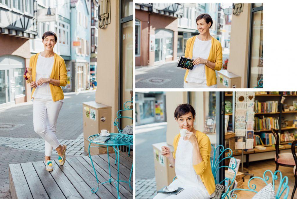 Gelb, PETER HAHN, Mode, Fashion, Inspiration, Outfits, elegante Damenmode, DOB, Modetrends, Schminktante, Modeblog, Ü40, Anja Frankenhäuser