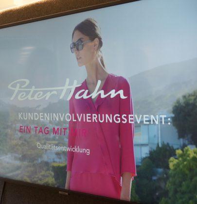 """""""Ein Tag mit mir"""" – Ein Kundenevent bei PETER HAHN"""
