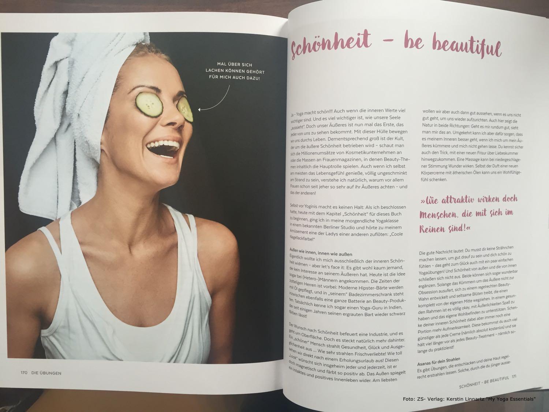 Gurkenmaske und andere Beautyrituale con Yoga-Expertin Kerstin Linnartz im Beautyinterview mit der Schminktante.