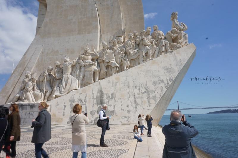 Pradao des Descobrimentos, Denkmal, Monument, Figuren, Lissabon, Reiseblog, Portugal, Lissabon, Reise, Reisetipps, Reisen, Travel, Schminktante