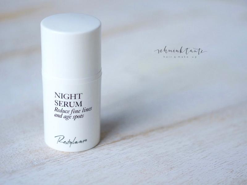 Das Night Serum aus der Skincare Linie von Restylane.