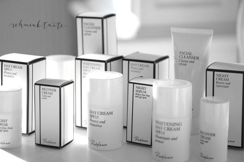 Packaging der Restylane Skincare Linie.
