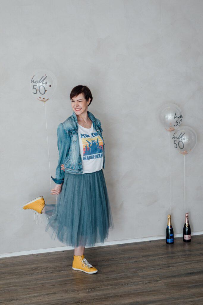 Schminktante, Anja Frankenhäuser, Turniertanz, Leben, Geburtstag, 50