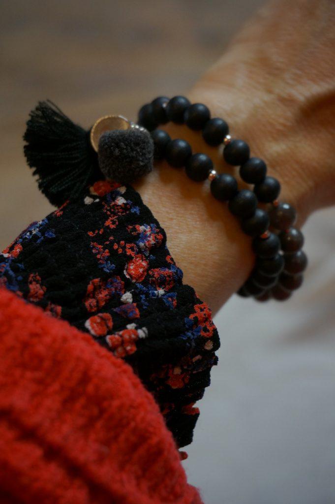 Advent, Weihnachten, Geschenke, Geschenketipps, Accessoires, Modeschmuck, Armband, Mala, Schmückstück, Anja Frankenhäuser, Schminktante, Top-Blog