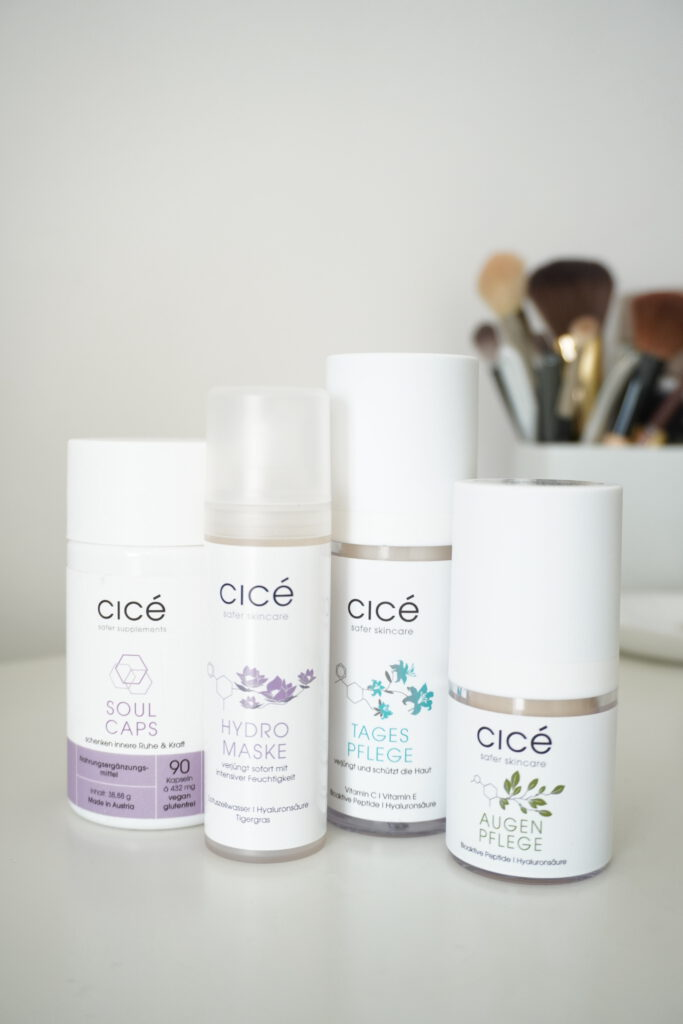 cicé, Hautpflege, 25%, Aktion, Rabatt, Anti Aging, schöne Haut, reife Haut, trockene Haut, Schminktante, Anja Frankenhäuser