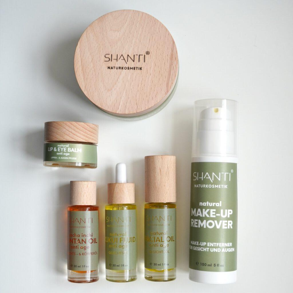 Shanti, Naturkosmetik, Hautöl, Anti Aging, Gesichtspflege, Ölkosmetik, Kosmetik, Schminktante, Anja Frankenhäuser, Beautyblog