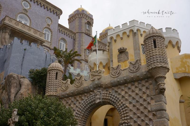 Sintra, Palacio Nacional, Azulejos, Thronsaal, Ahnensaal, Reise, Reisen, Travel, Schminktante, Portugal