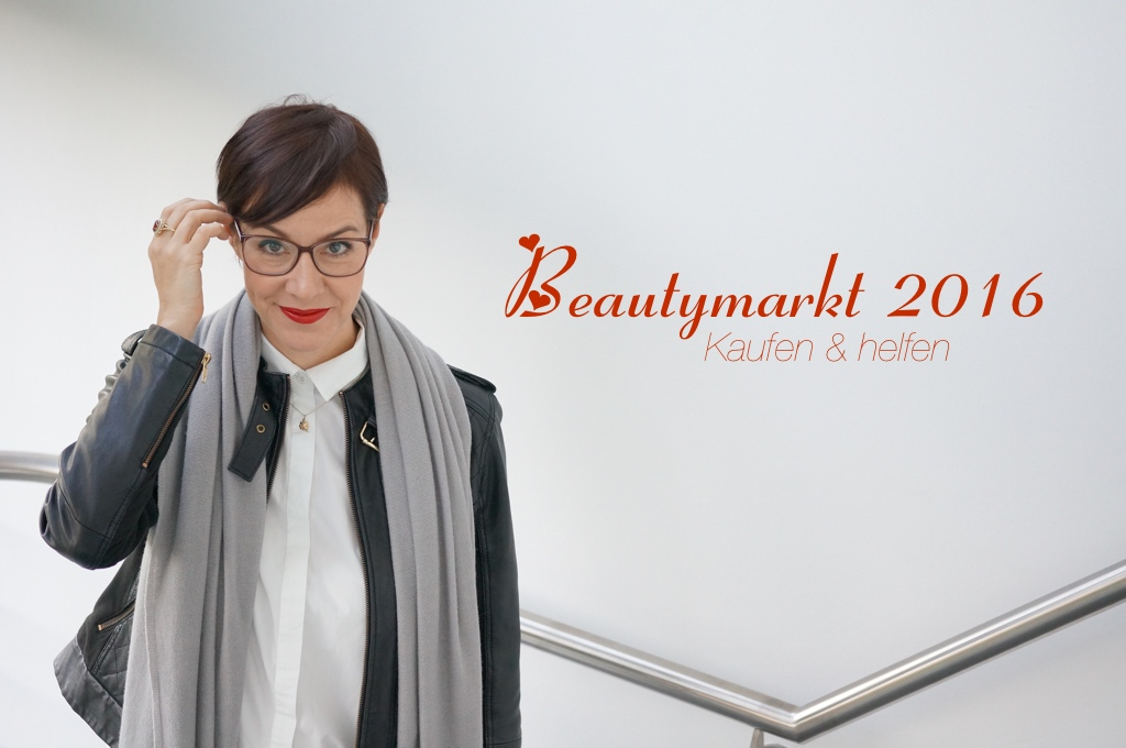 Die Schminktante eröffnet den beautymarkt 2016 zu Gunsten der Notfellchen Hilfe!