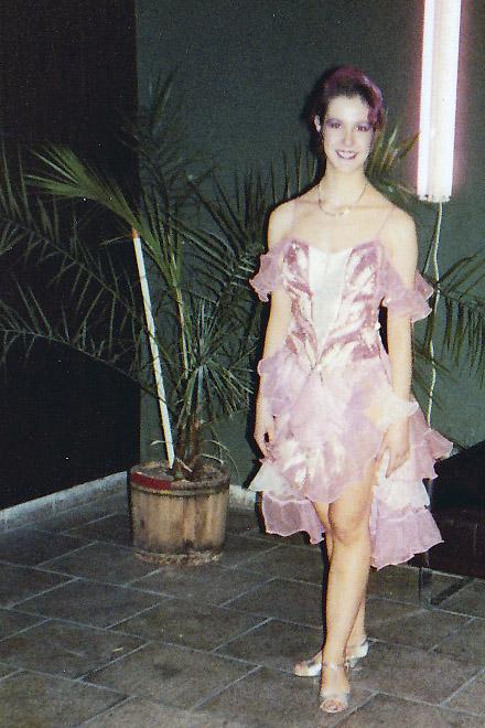 Turniertanz, Mauerfall, 1989, Wende DDR, 9. November, Anja Frankenhäuser, Schminktante