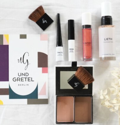 Organic Make up Tutorial: UND GRETEL Cosmetics