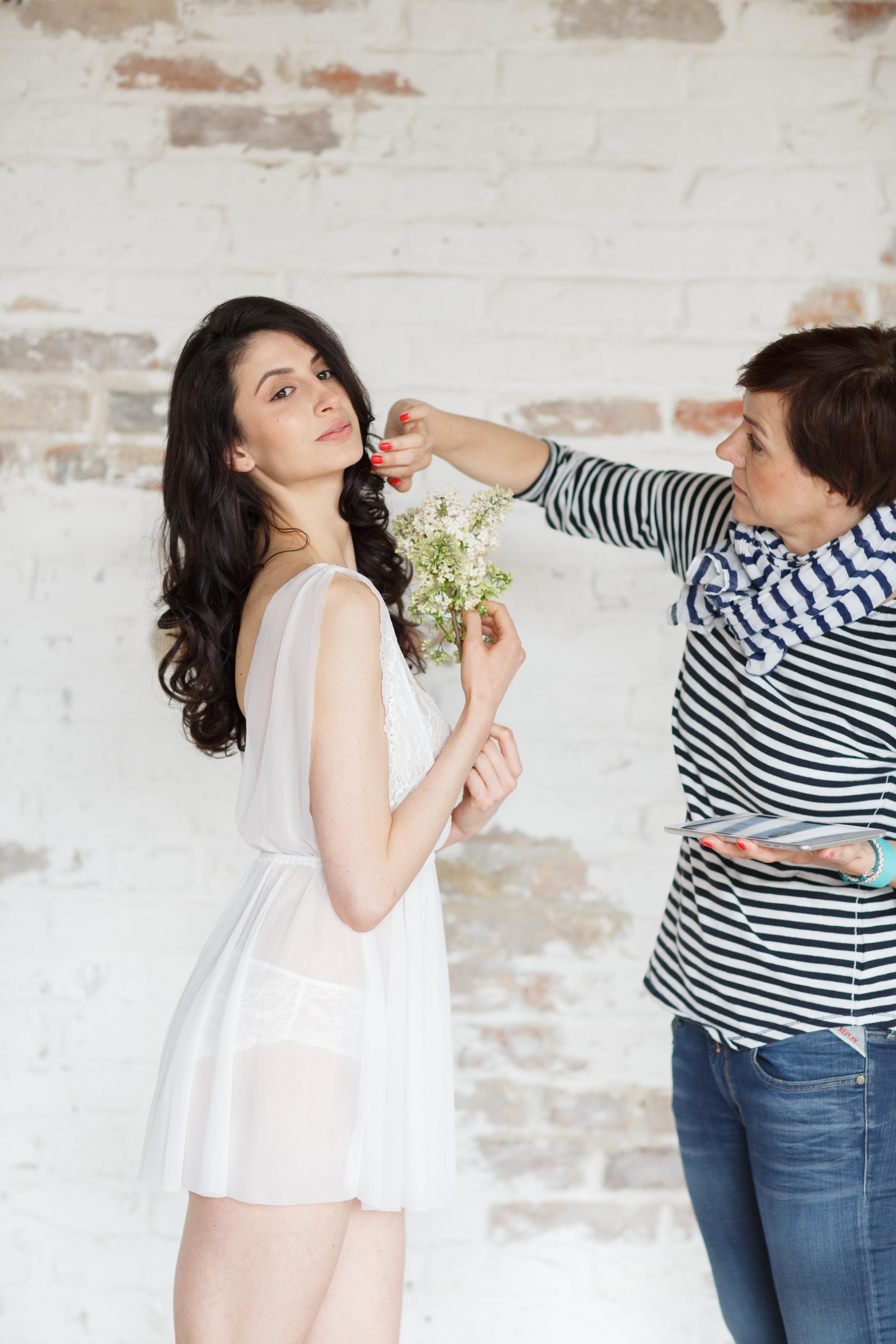 Die Schminktante als Spezialisitin für Brautfrisuren und -Make up in Karlsruhe und Umgebung.