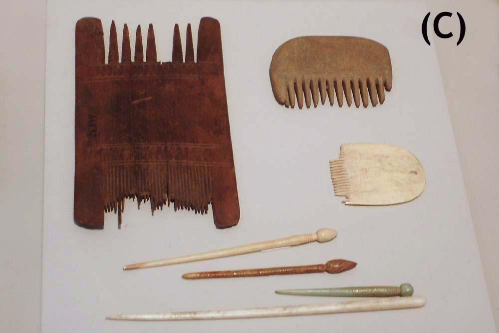 Kämme aus der Bronzezeit