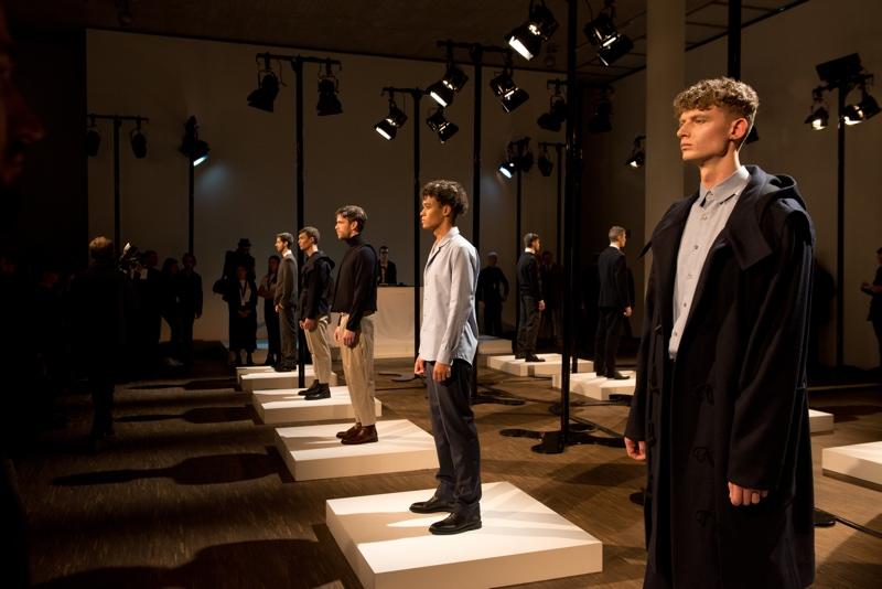 Brachmann Show auf der Berlin Fashionweek, Januar 2017.