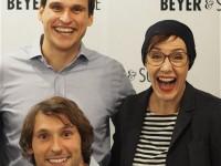Live auf Sendung: Beyer & Söhne & Schminktante