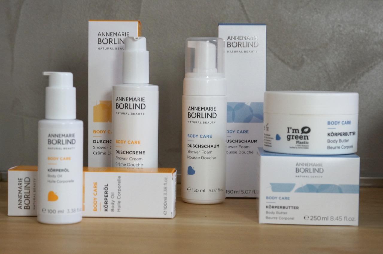 Hautpflege, Börlind, Naturkosmetik, Körperpflege, Duschcreme, trockene Haut, Schminktante, Anja Frankenhäuser, Körperöl
