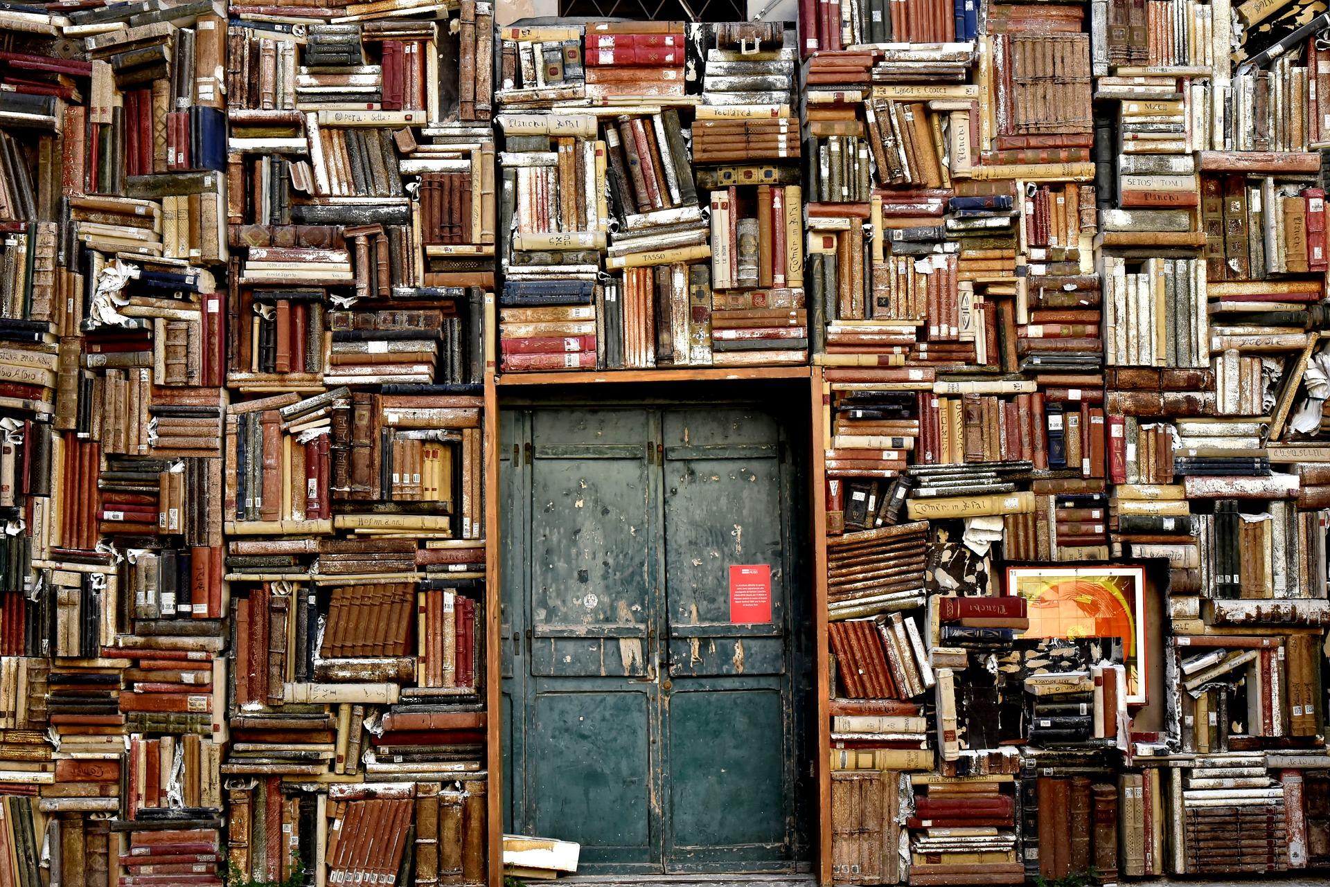 Bücher machen jeden Wohnraum gemütlich.