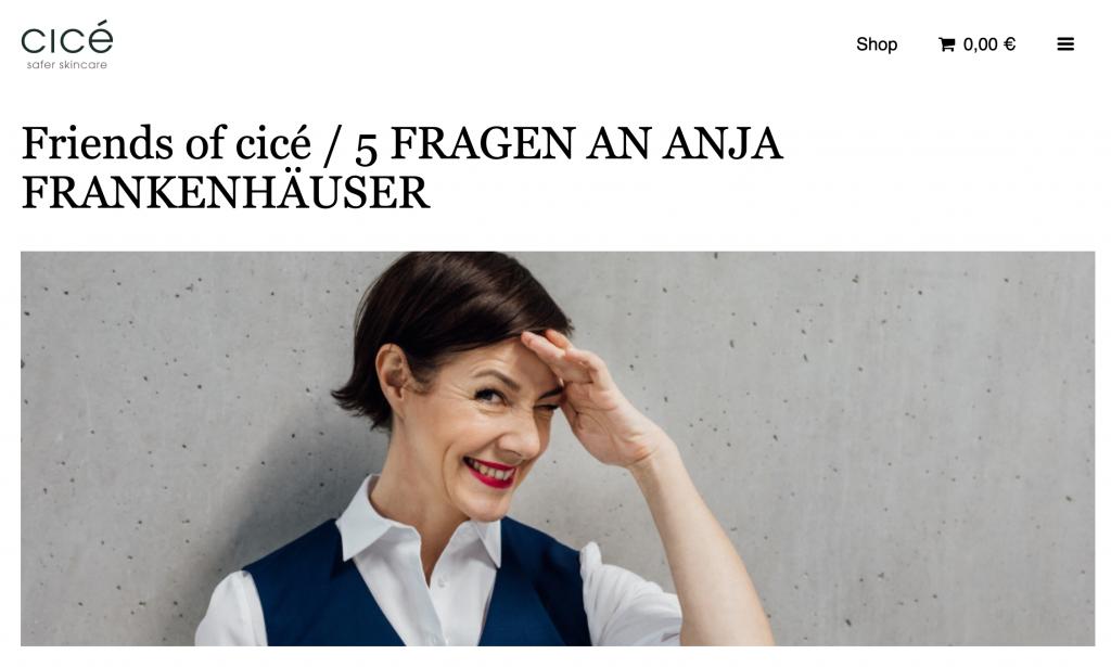 Monatsrückblick, Februar, 2020, kosmetik, Schminktante, Anja frankenhäuser, cice, Interview
