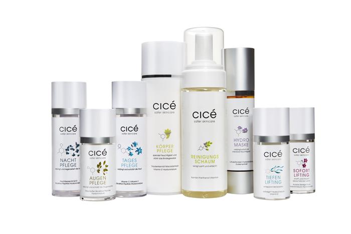 Anti Aging Hautpflege von Cicé, Februar-Aktion, Anti Aging Creme, Antifaltencreme, Wirkstoffkosmetik