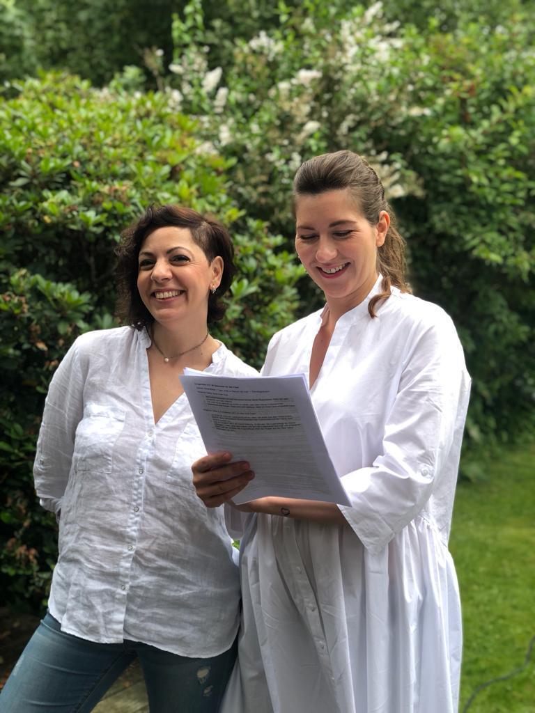 cicé - Dreh für die Skincare Marke in Hamburg im Juli 2021 für die große Rabattaktion 2021 mit 20% auf alles. Mit Anja Frankenhäuser aka Schminktante. Beautyblog, Top-Blog, Anti Aging, Hautpflege