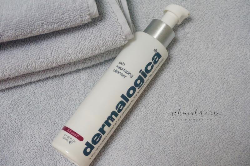 Dermalogica, Skin Resurfacer, Milchsäure, Peelings, Anti Aging, glatte Haut, Schminktante, Anja Frankenhäuser