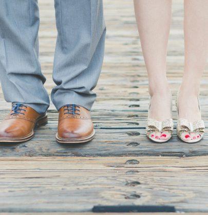Geschichten die das Leben schreibt: Die Schminktante kauft Schuhe