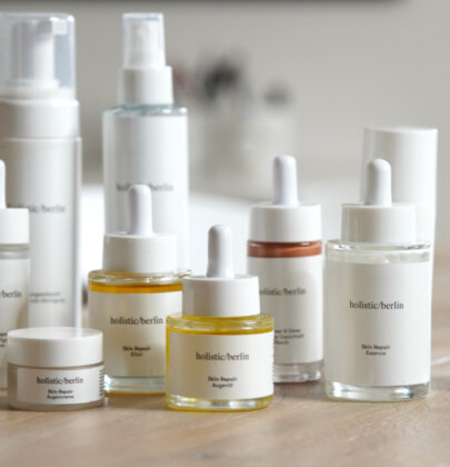 Natürliche Hautpflege von holistic/berlin