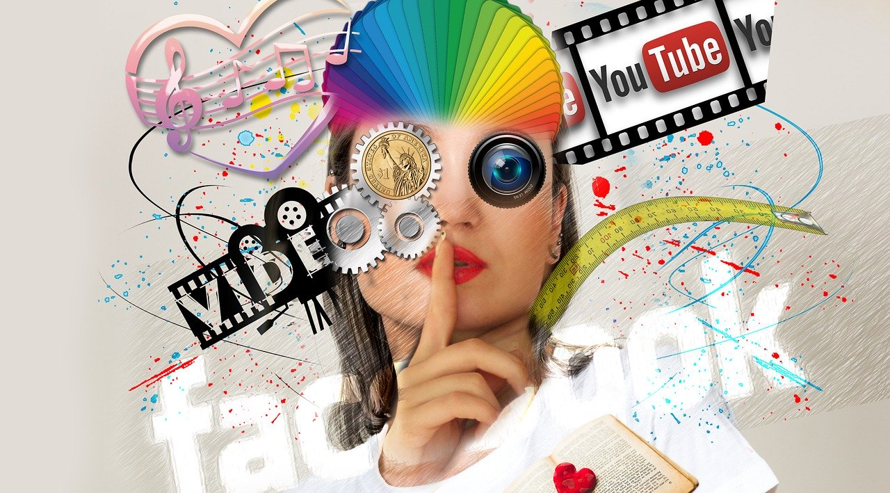 Werbung, Kooperation, bunt, Schminktante, Info, Anja Frankenhäuser