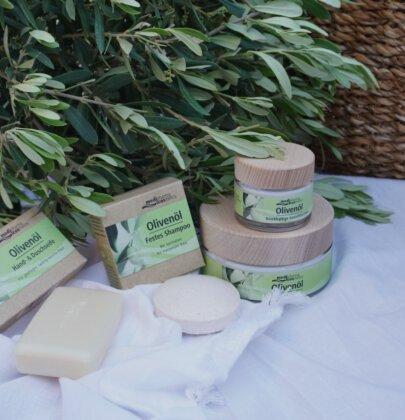 Testergebnisse: medipharma cosmetics – Nachhaltige Olivenöl-Pflegeserie + Verlosung