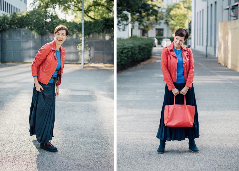 Kaschmir, #myperfectstyle, PETER HAHN, Damenmode, Mode, Fashion, Outfit, Herbstmode, Schminktante, Anja Frankenhäuser, Top-Blog, Fashionblog