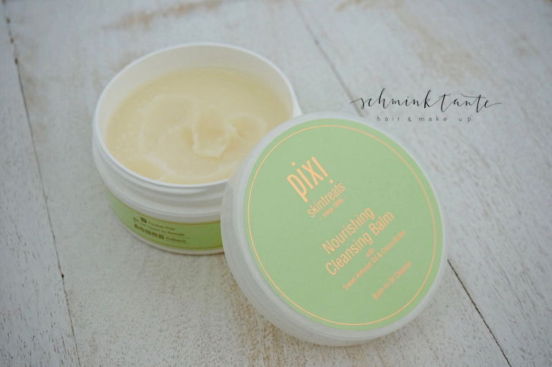 Der Nourishing Cleansing Balm von Pixi im Schminktantenblog.