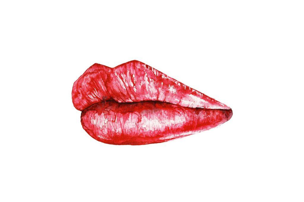 Lippen, Lippenstift, Statementlippen, rote Lippen, Lippen schminken, Make up, Make up Tipps, Schminktipps, Beauty, Schminktante, Anja Frankenhäuser