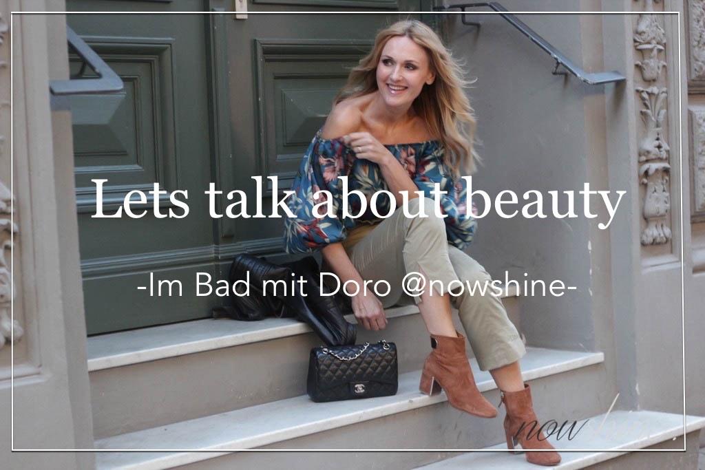 Beautyinterview im Januar 2018: Schminktante Anja Frankenhäuser und Doro von Nowshine